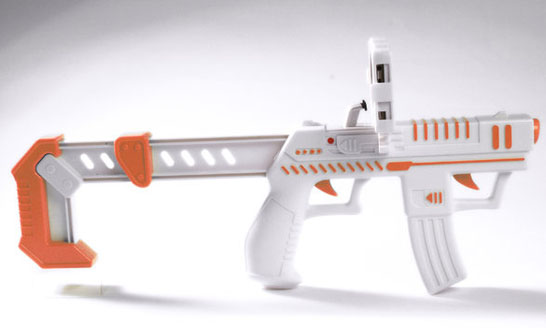 AppBlaster Accelerometer Augmented Reality Gun