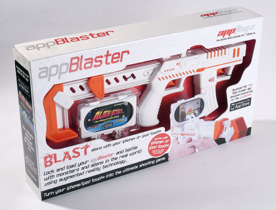 AppBlaster Gun For Apple iPhone and iPod Touch