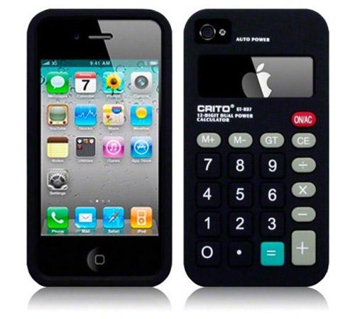 Apple iPhone 4 Calculator Silicone Case