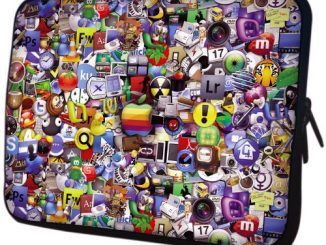 Application Icon Laptop Sleeve