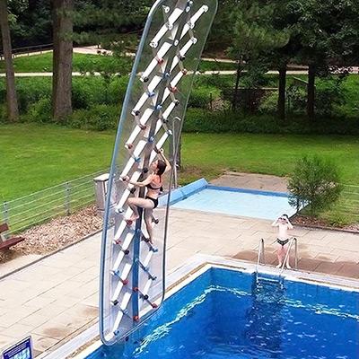 Aquaclimb Sport Poolside Climbing Wall