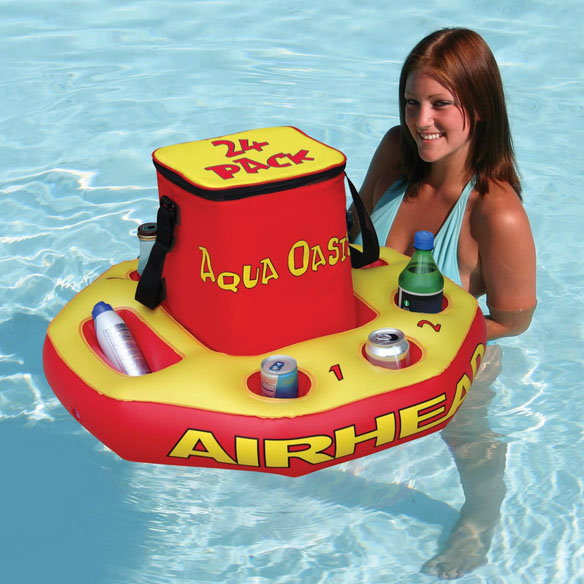 Aqua Oasis Floating Cooler