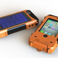 Aqua Tek S Rugged Waterproof Solar Powered Battery-Boosting iPhone Case