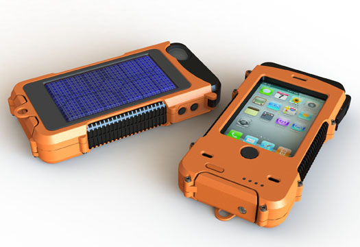 Solar Powered Iphone S Case