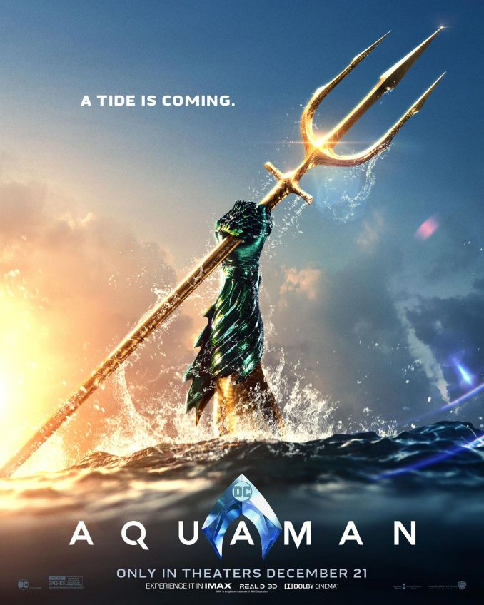 Aquaman 2018 Movie Poster