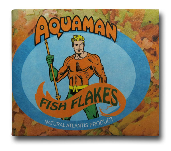 Aquaman Fish Flakes Tyvek Wallet