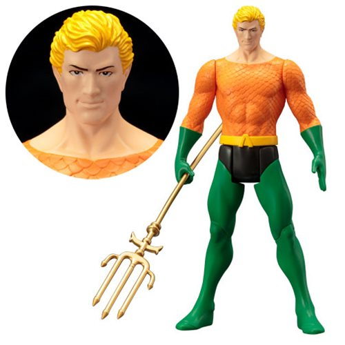 Aquaman Super Powers Collection ArtFX Statue