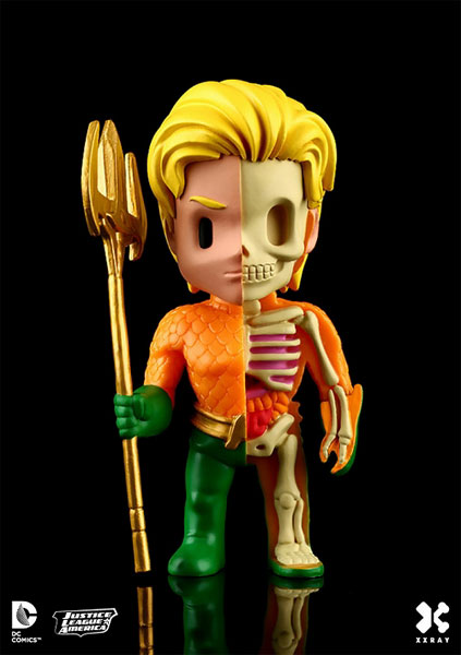 Aquaman XXRAY 4-Inch Vinyl Figure 1