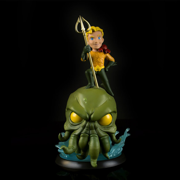 Aquaman and Cthulhu Q-Fig Max Figure
