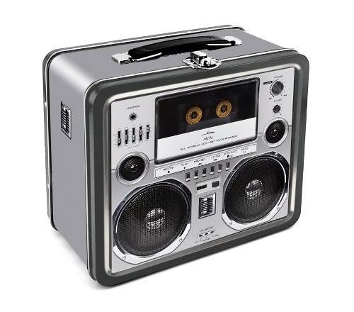 Aquarius Boombox Lunch Box