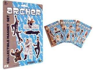 Archer Collectible Magnet Set