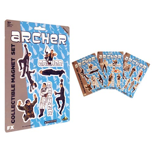 Archer Collectible Magnet Set