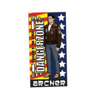 Archer DangerZone Cotton Towel