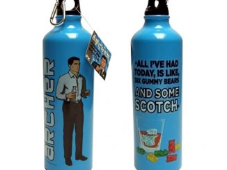 Archer Scotch & Gummy Bears Water Bottle