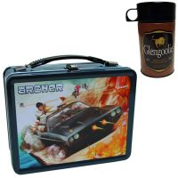 Archer Secret Agent Retro Style Metal Lunch Box