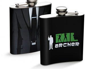 Archer Suit Flask