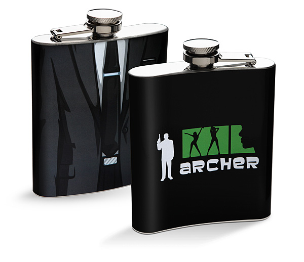 Archer Suit Flask