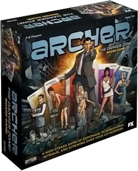 Archer: The Danger Zone! Board Game