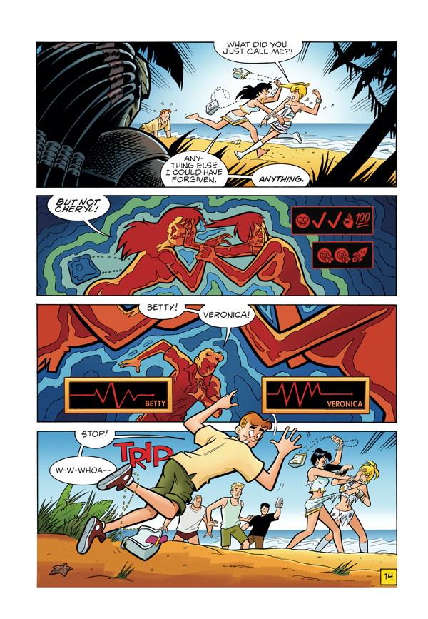Archie vs Predator Comic Book