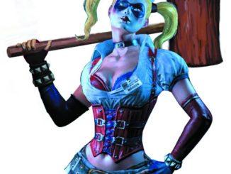 Arkham Asylum Harley Quinn Bust Bank