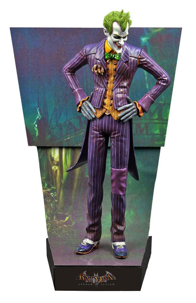 Arkham Asylum The Joker Premium Motion Statue