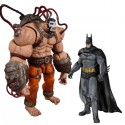 Arkham City Bane vs Batman Action Figures