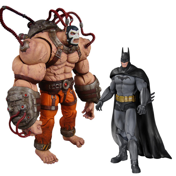 Arkham City Bane vs. Batman Action Figure 2-Pack