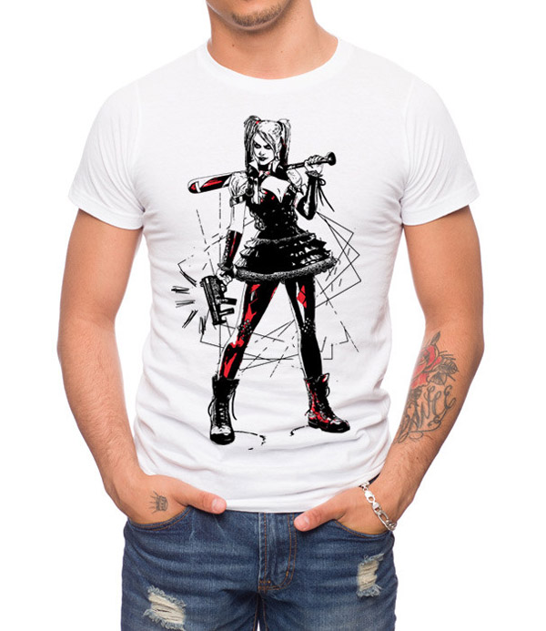 Arkham Knight Harley Plays Rough T-Shirt