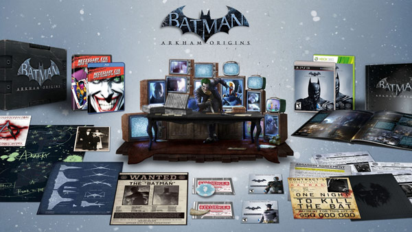 Arkham Origins Collectors Edition Game