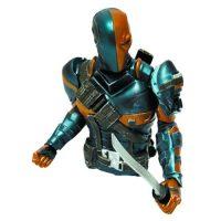 Arkham Origins Deathstroke Bust Bank