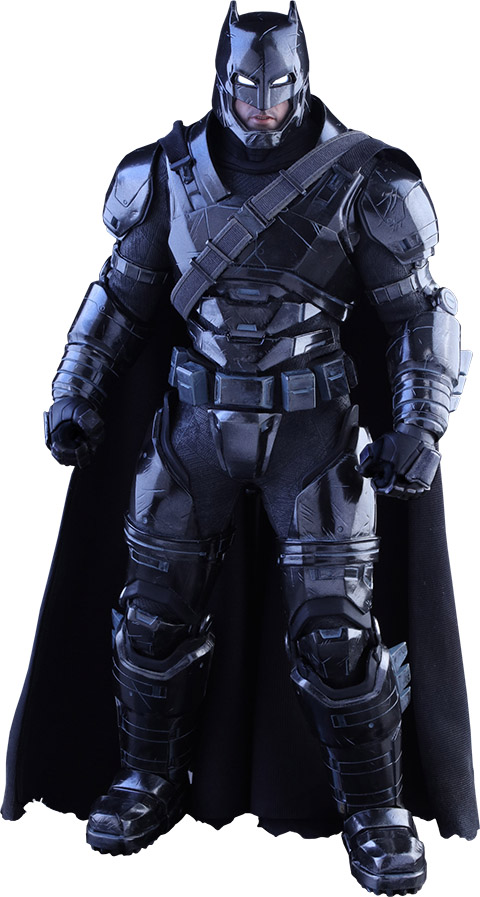 Armored Black Chrome Version Batman Sixth-Scale Figure