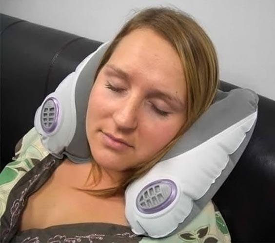 Aroma Snoozer Travel Pillow