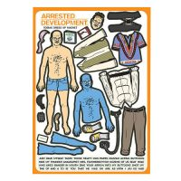 Arrested Development Tobias Funke Dress Up Magnet Set