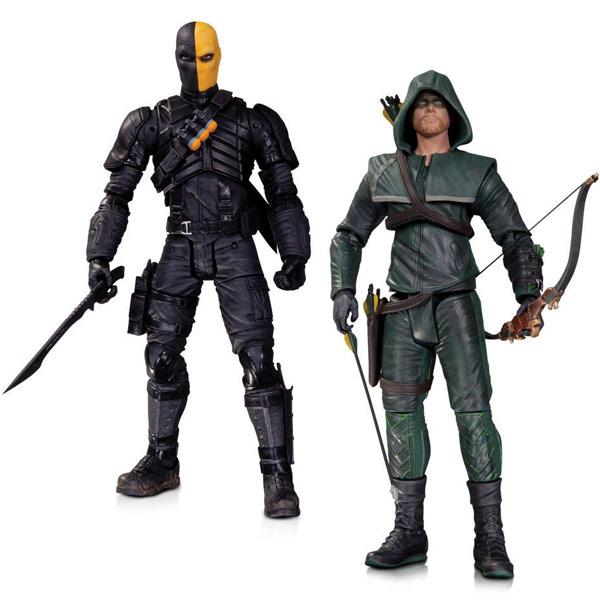 Arrow Oliver Queen vs Deathstroke Action Figures