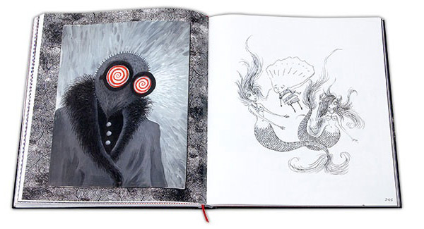 The Art of Tim Burton Book