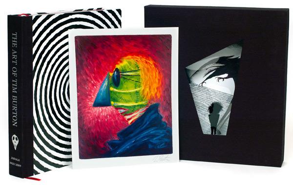 Art Of Tim Burton Deluxe Edition Hardcover