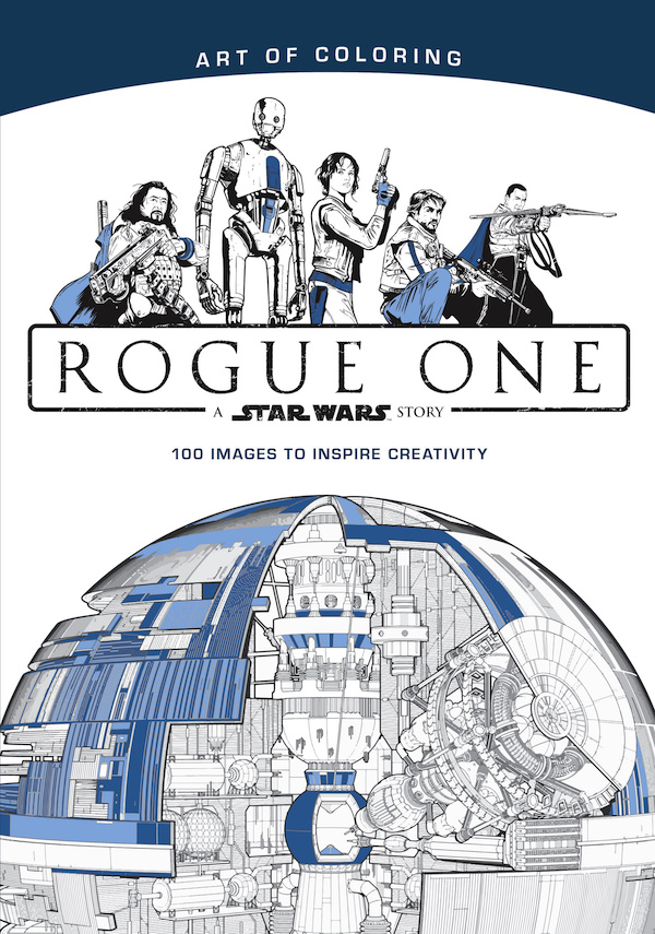 Art Of Coloring Star Wars Rogue One Book