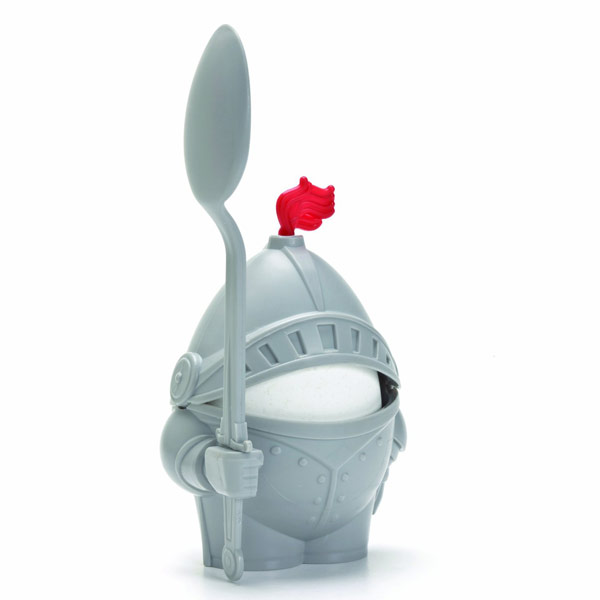 Arthur Boiled Egg Cup Holder with Eating Spoon Knight