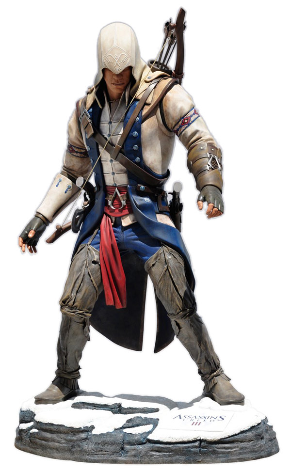 Assassins Creed Connor Kenway Life Size Statue