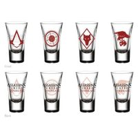 Assassins Creed Shot Glass 4-Pack