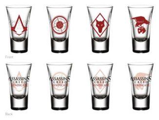 Assassins Creed Shot Glass 4-Pack