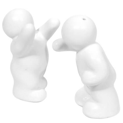 Assault and Pepper Shakers