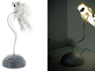 Astronaut Light Desk Lamp