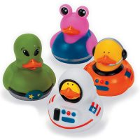 Astronaut and Space Alien Rubber Duckies