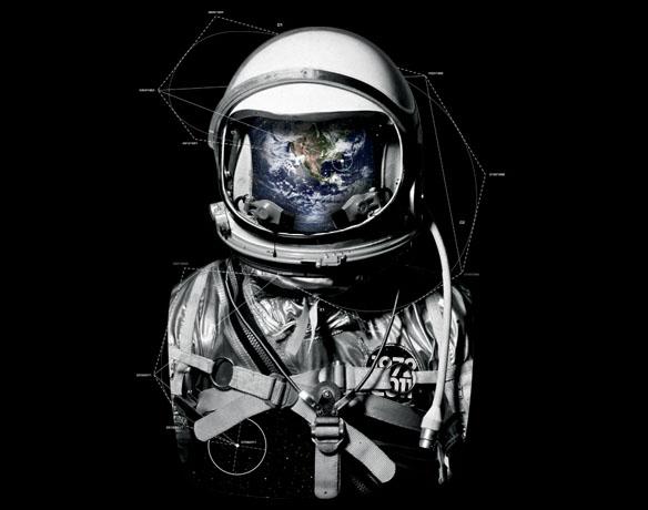 astronaut design - photo #5