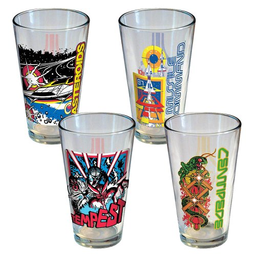 Atari Arcade Pint Glasses