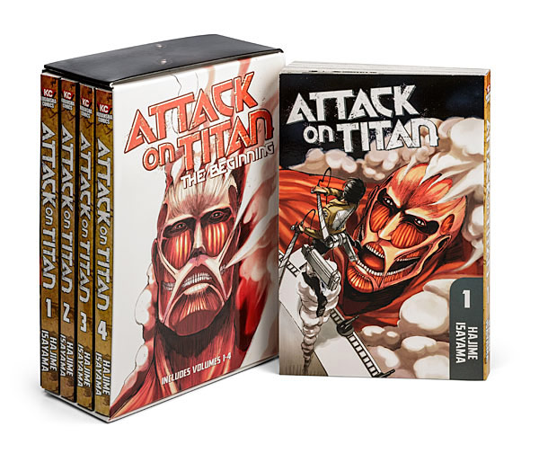 Attack on Titan Beginnings Collection