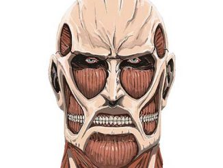 Attack on Titan Colossal Titan Ceramic Coin Bank