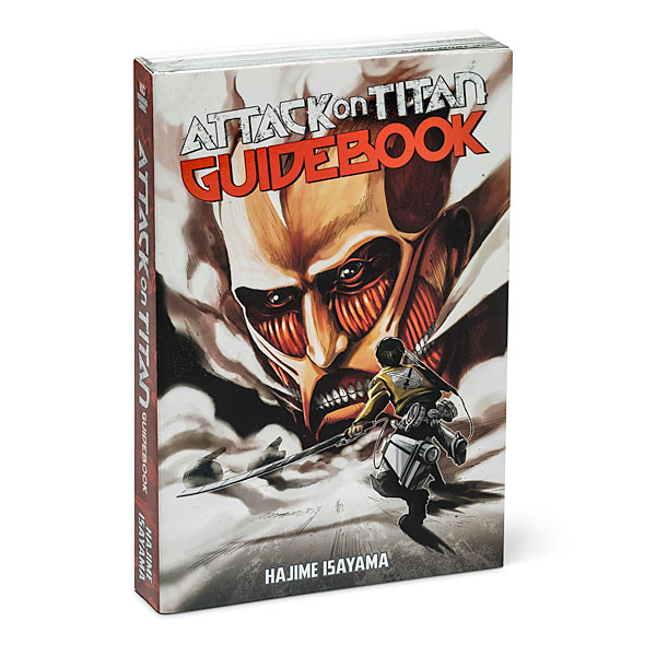 Attack on Titan The Official Guidebook