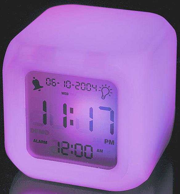 Aurora Color Changing Clock